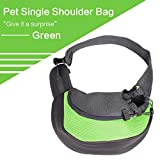 HLYMNB Bag for Dog Backpack Mesh Carrier Dog Pet Travel Walking Bicycle Small Carry Bag for Dogs Pet Carrier Dog Front Chest Backpack