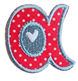 51o9P9NLyiL. SL160  TrickyBoo iron on fabric smallcase letter a104, 4 5cm personalizes decoration birth personalize sewing baptism curtains drapes Vehicles Transportation Food Marine Vessels Hallway Shaker Kwanzaa Mothe UK best buy Review