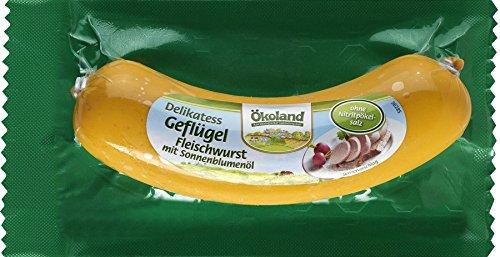 Ökoland Bio Delikatess Geflügel-Fleischwurst (6 x 180 gr)