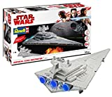 Revell Build & Play - Star Wars Imperial Star Destroyer - 06749, Maßstab 1:4000, originalgetreue Nachbildung mit beweglichen Teilen, mit Light&Sound Effekten, robust zum Spielen