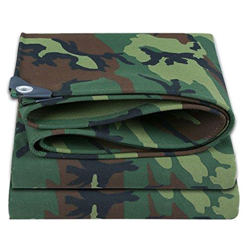 Z&YY Bâche d'isolation de Camouflage épaisse de 0.7mm avec des Oeillets (Couverture de Camion Anti-vieillissement résistante à la déchirure résistante et résistante à la déchirure) (500g /)