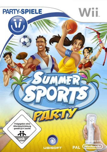 Summer Sports Party - Party Spiele