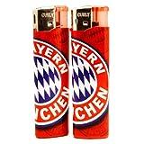 FC Bayern München Feuerzeug / Lighter 2er Set FCB