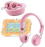 Best Nickelodeon Casques enfants - Duragadget Casque réglable rose pour enfant, compatible avec Review