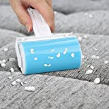 Topist Washable Sticky Lint Roller,Fluff, Pet Hair & Dust Remover Reusable Sticky Picker Set Cleaner Lint Roller(Blue)