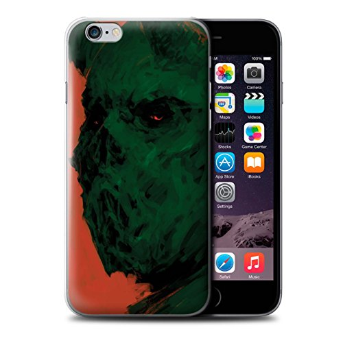 Offiziell Chris Cold Hülle / Case für Apple iPhone 6+/Plus 5.5 / Pack 6pcs Muster / Wilden Kreaturen Kollektion Ungeheuer/Troll