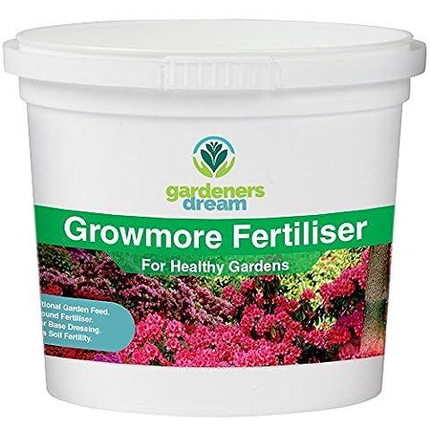 GardenersDream - Growmore - Healthy Soil Builder Plant Food Garden