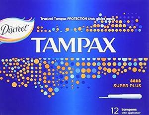 Tampax Super Plus Tampons - Pack of 48