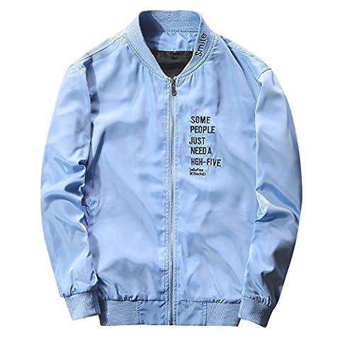 WALK-LEADER - Sweat-shirt à capuche - Personnage - Col Rond - Manches Longues - Homme - bleu - X-Large