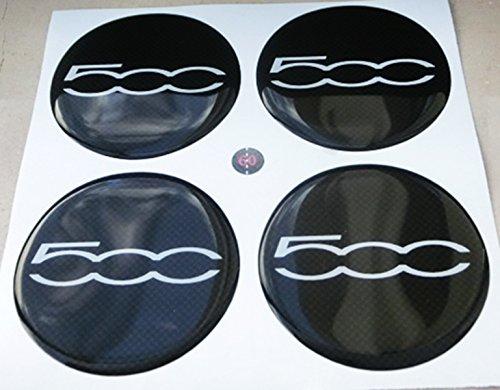 60 mm bianco nero tuning effetto 3d 3m resinato coprimozzi borchie caps adesivi stickers per cerchi in lega x 4 pezzi fondo effetto carbonio