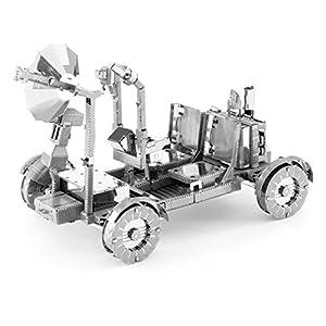 Fascinations Metal Earth - Maqueta metálica Rover Lunar