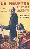 Le meurtre de Roger Ackroyd by Agatha Christie (2007-03-21) - Le Masque - 21/03/2007