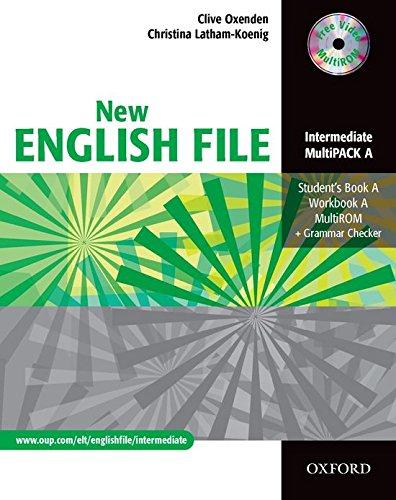 New english file. Intermediate. MultiPACK A: Six-level general English course for adults: Per le Scuole superiori