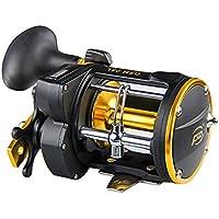 Zantec® - Campana de alarma giratoria para pesca de tambor de carrete con rueda de barco