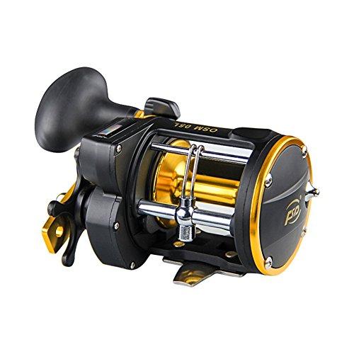 Zantec Zähler Alarm Bell Spinnrolle Fischkutter, Drum Schleppen Boot Teller Rad (Drum Glocken)