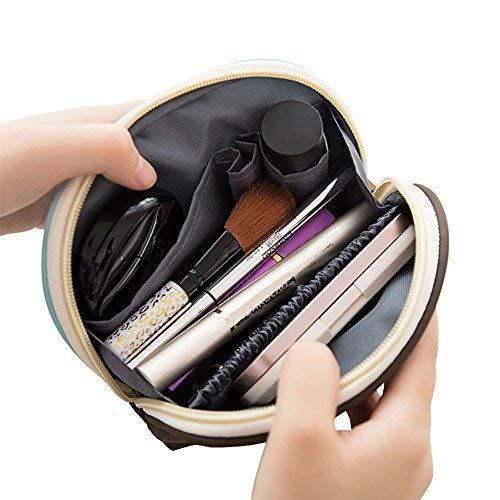 Aibada Kleine Kosmetiktaschen, wasserdicht, Luxus-Reise-Organizer, für Damen, Mini-Make-up-Tasche