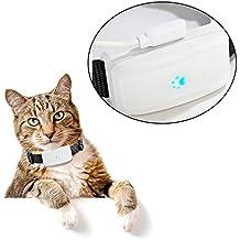 Pet para perros vehículo GPS dispositivo de seguimiento de GPS Tracker tiempo real localizador con potente batería de larga espera Mascotas buscador de cuello (tk911)