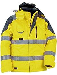 Helly Hansen Workwear 40-00V01700-44 - Chaqueta de seguridad (44), amarillo