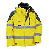 Cofra Wanrschutz Thermo-Winterjacke Rescue V017-0-00, Wetterschutzjacke, Große 64, 40-00V01700-64