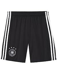 adidas DFB H Sho Y - Pantalón corto para niño, color negro / blanco