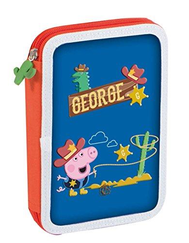 Peppa Pig – Plumier, diseño de George, 14 x 20 cm (Copywrite 111557)