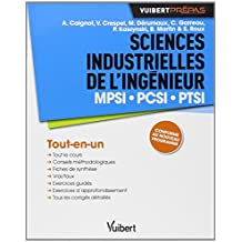 Sciences Industrielles de l'ingénieur : MPSI,  PCSI, PTSI