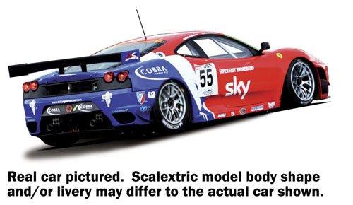 Scalextric 500003085 - Ferrari F430 GT2 HD DPR CRS