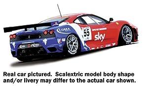 Scalextric 500003085 - Ferrari F430 GT2 HD DPR CRS importado de Alemania