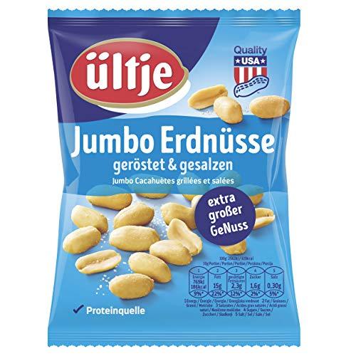 ültje Jumbo Erdnüsse, geröstet und gesalzen, 12er Pack (12 x 200 g)