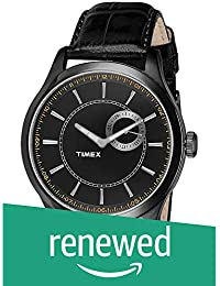 (Renewed) Timex Analog Black Dial Mens Watch - TWEG14608#CR