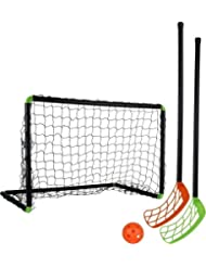 Stiga Sports Unihockeyset Set Player 60, Schwarz, 79-1100-60