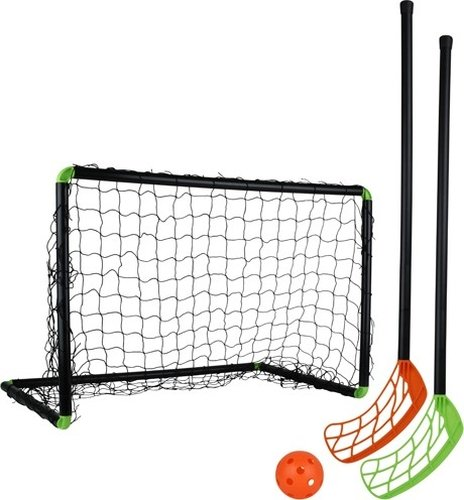 STIGA PLAYER 79-1100-60 - KIT DE FLOORBALL  COLOR NEGRO