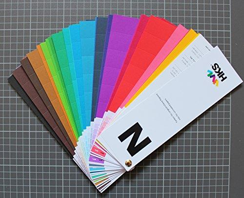 HKS®-Farbfächer (HKS®-N), für Naturpapiere, Druckerei, Mediengestalter, Vierfarbdruck, Offsetdruck