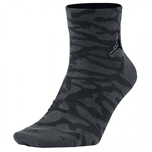 Nike Herren Jordan Elephant Qtr Kniestrümpfe, Schwarz, Medium -