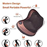 J GO Massage Cushion Pillow Massager Personal Full Body for Car Home
