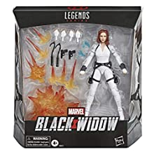 Hasbro Marvel Black Widow Legends Series 15 cm Collectible Black Widow Action Figure Toy, Includes 12 Accessories, Ages 4 And Up