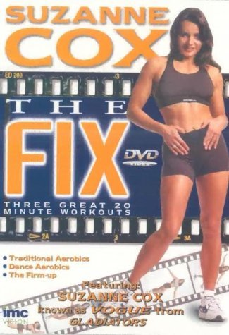 Preisvergleich Produktbild Suzanne Cox The Fix - 3 x 20 Minute Workouts - Includes Traditional Aerobics, Dance Aerobics & a Firm it up Section - Healthy Living Series [DVD] [1998] by Suzanne Cox