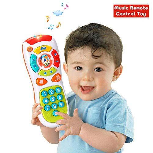 onen,Lichtern und Musik,Klicken und Zählen Fernbedienung,Beste Geschenke für Frühe Pädagogische Baby-Spielzeug für 1-Jährig für Kleinkinder,Jungen und Mädchen ()