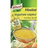 Knorr Soupe Mouliné de Légumes Vapeur à la Fleur de Sel 1 L -