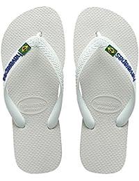 Havaianas Brasil Logo Chanclas, Unisex-Adultos