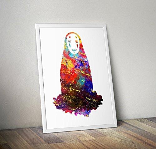 Studio Ghibli inspiriert Poster - spirited away Print - Alternative TV/Movie-Prints in verschiedenen Größen (Rahmen nicht im Lieferumfang (Tv Inspirierte Kostüme)