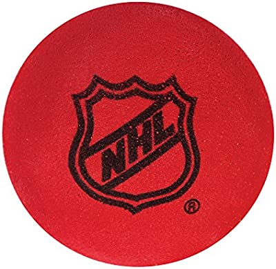 Franklin Sports NHL Indoor Foam Mini Colored Replacement Hockey Balls - 12 Pack