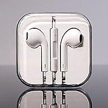 Apple Earpods - Auriculares de botón (micrófono, control remoto integrado, 3.5 mm), color blanco - Embalaje original