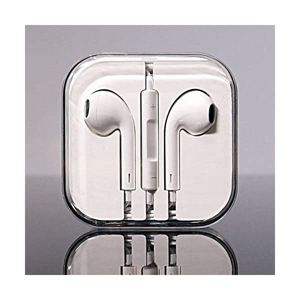 Apple MD827ZM/A – EAR-PODS (WITH REMOTE AND MIC) – WITH REMOTE AND MIC 51o9eXETtbL