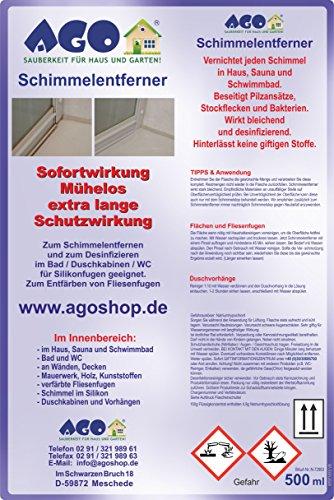 AGO Schimmelentferner 500ml