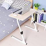 Soges höhenverstellbar Laptoptisch Essentisch Notebooktisch für Bett und Sofa Betttisch Laptoptisch Holz S1-2MP