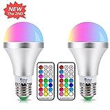Best Choix Produits Nouvelles - Ampoule LED Couleur E27 10W Changement de Couleur Review