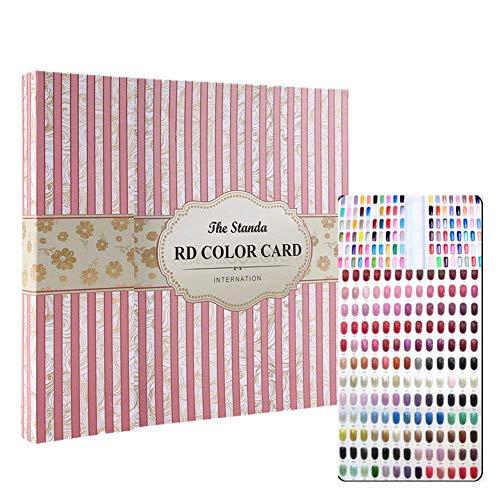 Nail Art Display libro cartas colores 120 colores