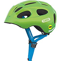 ABUS Youn-I MIPS - Casco para bicicleta infantil, color verde, S (48-54 cms)