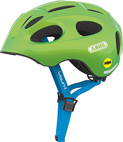 Abus Youn-I Mips Fahrradhelm, Sparkling Green, 48-54 cm